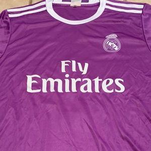 Adidas Real Madrid Zidane Soccer Jersey Medium